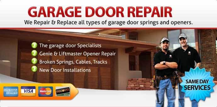 Garage door repair Cutler bay FL
